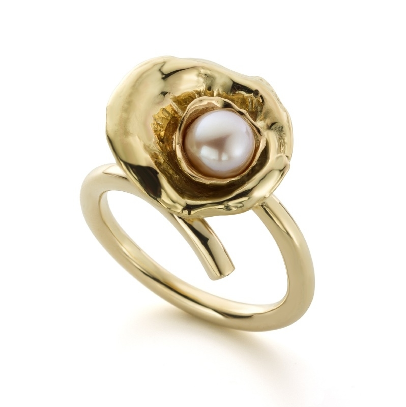 Pink pearl ring (Sold!)