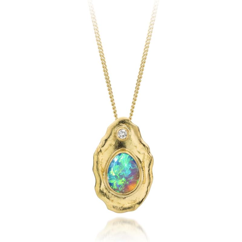 Opaal & diamant