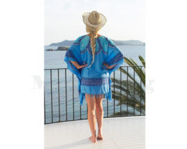 Sarong Dress blue