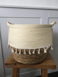 Mandenset Ivory Paper Straw