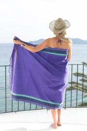 Strandlaken Kikoy Giza Purple