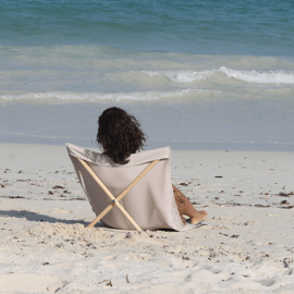 Strandstoel Zand