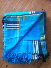 Strandlaken Kikoy Jambo Blue
