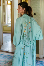 Kimono Pip Noelle Grand Fleur Blue