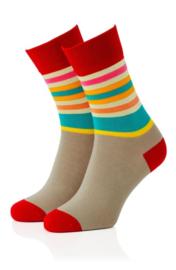 Sokken multi colour 08