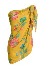 Alice Pareo Jambo Flowers Yellow