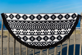 Aztec Black&White badstof