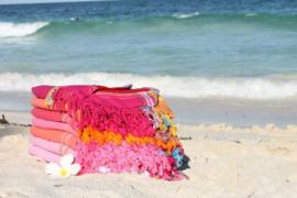 Strandlaken Kikoy Lamu Pink