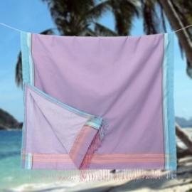 Strandlaken Kikoy Kakamega Purple Pink