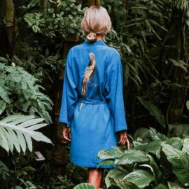 Kimono Pheasant in Blue