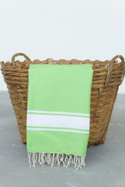 Hamamdoek Basic Anice Green