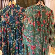 Kimono Imbarro Paradise Petrol