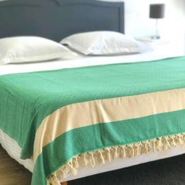 Hamam Bedcover Groen