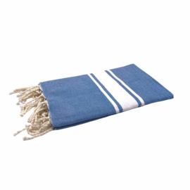 Hamamdoek Basic Blauw