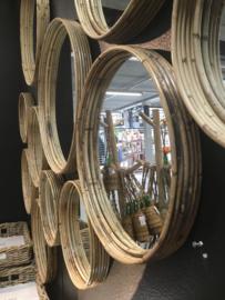 Rotan Spiegel 30 cm