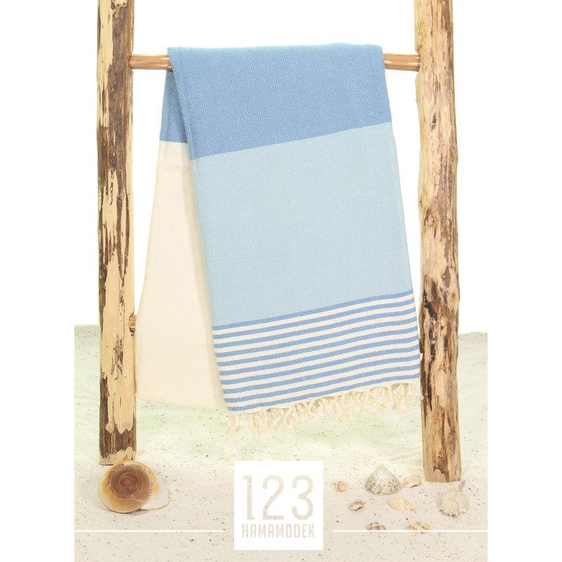 123 Hamamdoek Marine Lichtblauw