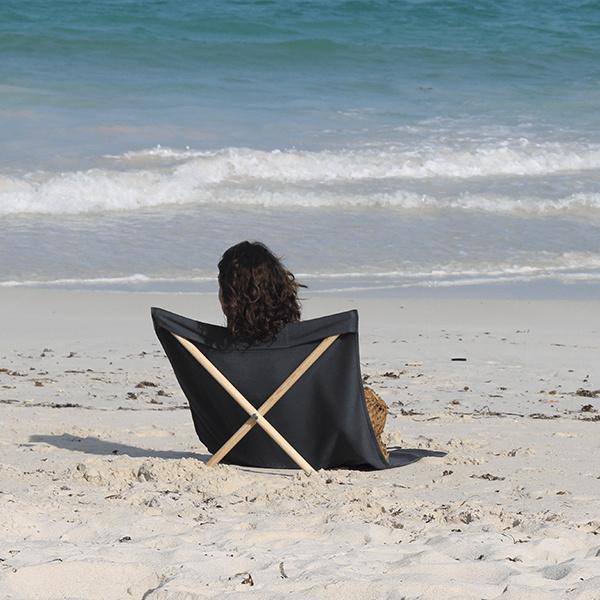 Strandstoel Gris