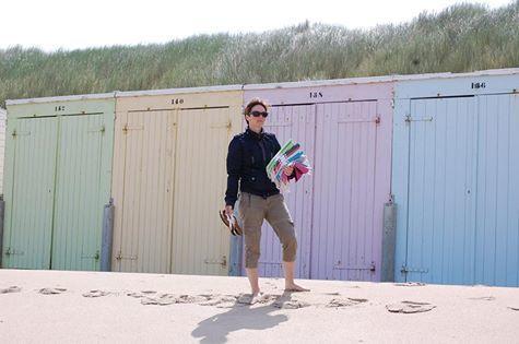 Hamamdoeken strand Westkapelle