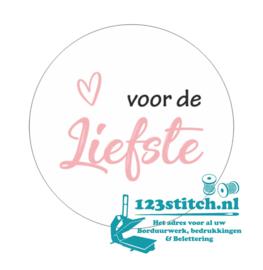 Sticker Voor de liefste