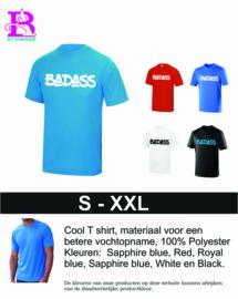 Heren T-shirt Badass