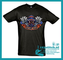 Motocross T-shirt Racing Team