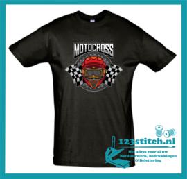 Motocross T-shirt Full Color