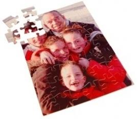 Puzzel met foto