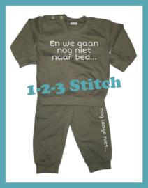 Baby pyjama En we gaan nog niet naar bed...
