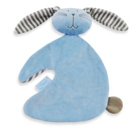 Tutpopje konijntje blauw