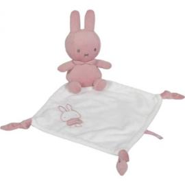 Knuffeldoekje Nijntje Pink Baby Rib