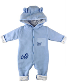 Box Pakje - Sweat Bear Blauw maat 56
