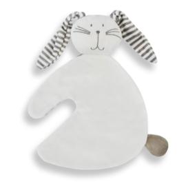 Tutpopje konijntje wit
