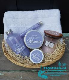 Moederdag badpakket groot Lavender Fields