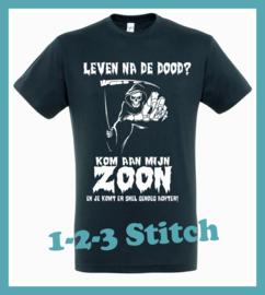 T-Shirt leven na de dood?