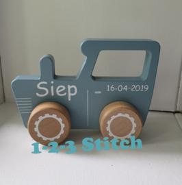 Little Dutch Tractor met naam