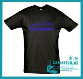 Subaru WRX met naam