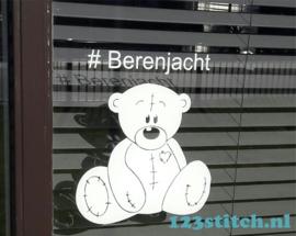 #Berenjacht sticker
