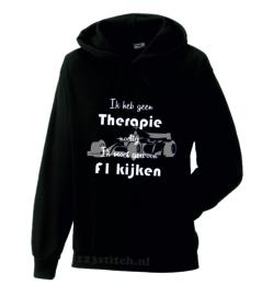 Ik heb geen therapie nodig, ik moet gewoon F1 kijken