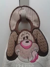 Handdoek hanger Hond