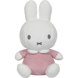 Knuffel Tiamo Nijntje Pink Baby Rib 20 cm