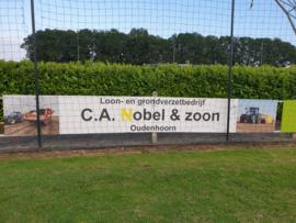 Reclamebord voor C.A. Nobel & zoon Oudenhoorn