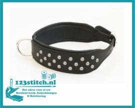 Hondenhalsband Extra Breed met studs