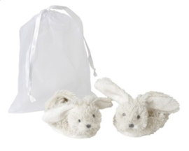 Ivory Richie Slippers in giftbag