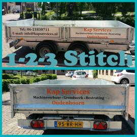 Aanhanger voor Kap Services, Oudenhoorn