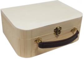 Houten koffertje Rabbit Richie Pink pakket