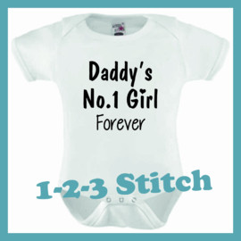 Daddy's No. 1 Girl forever