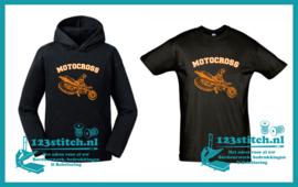 Motocross motor T-shirt of Hoodie