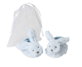 Blue Richie Slippers in giftbag