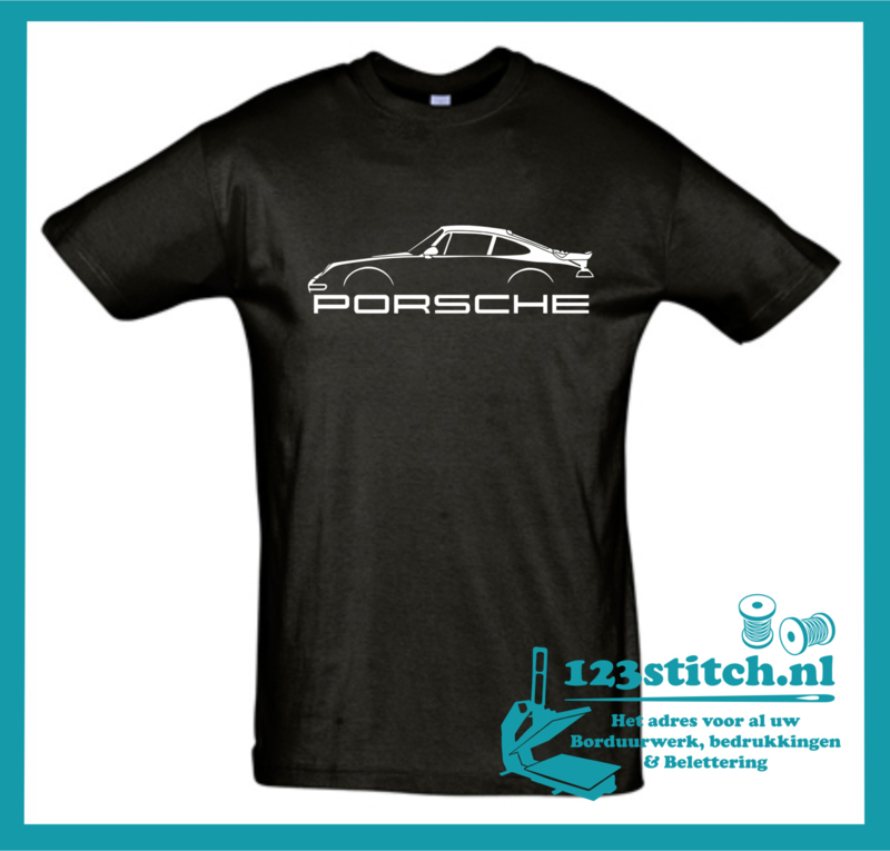Porsche 911 met naam