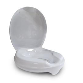 Toiletverhoger Laag met Deksel